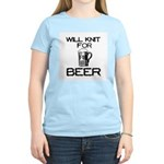 Will Knit for Beer Women's Light T-Shirt