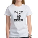 Will Knit for Beer Women's T-Shirt