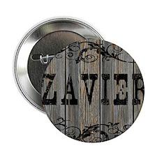 "Zavier, Western Themed 2.25"" Button"
