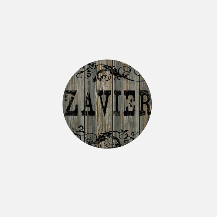 Zavier, Western Themed Mini Button