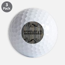 Zechariah, Western Themed Golf Ball