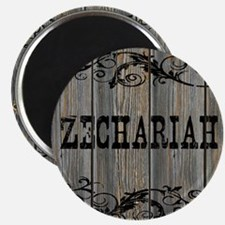 Zechariah, Western Themed Magnet