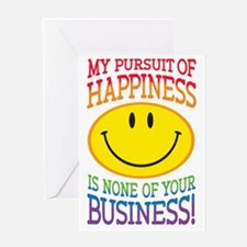 Pursuit of Happiness Greeting Card