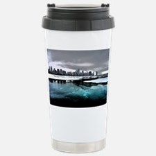 Chicago Sketched Thermos Mug
