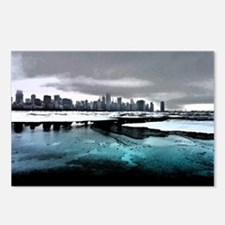 Chicago Sketched Postcards (Package of 8)