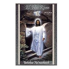 El has risen Postcards (Package of 8)