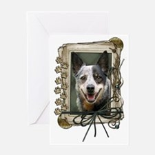 StonePawsAustralianCattleDog Greeting Card