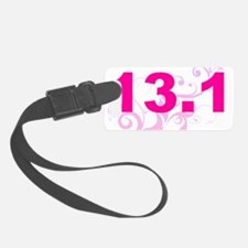 run13.1_black_sticker Luggage Tag