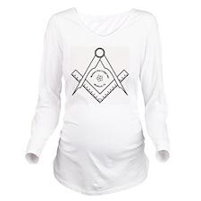 WSL83 Logo Long Sleeve Maternity T-Shirt
