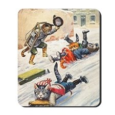 Thiele Cats Sled 3 Mousepad