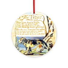 Blake Tyger Round Ornament
