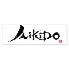 aikido_ut_aikikai Bumper Sticker