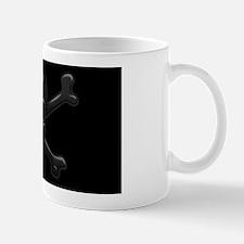 black-skull-OV Mug
