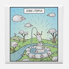 Ewe-topia Tile Coaster