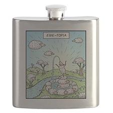Ewe-topia Flask