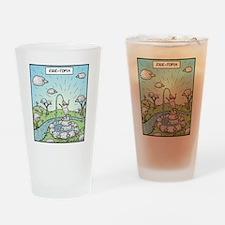 Ewe-topia Drinking Glass