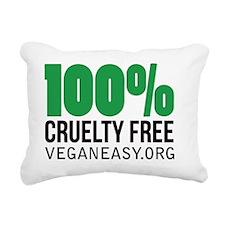 Crueltyfree Rectangular Canvas Pillow