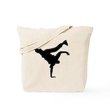 Break pose blk Tote Bag