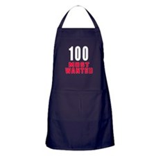 100 most wanted Apron (dark)