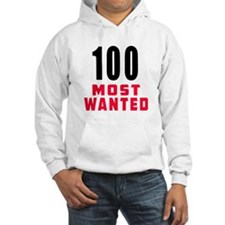 100 most wanted Hoodie