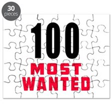 100 most wanted Puzzle