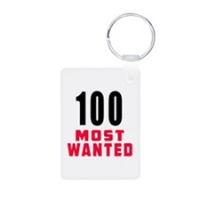 100 most wanted Keychains