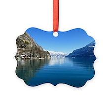 Swiss Alps Ornament