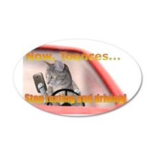 toonces2 Wall Decal