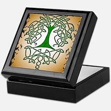 Celtic Tree of Life Keepsake Box