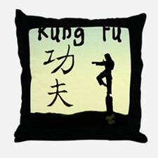 Kung fu Throw Pillow