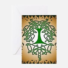 Celtic Tree of Life Greeting Card