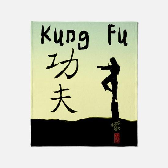 Kung fu Throw Blanket