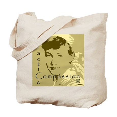 Practice Compassion Tote Bag