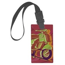 vespa-9x12 Luggage Tag