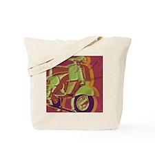 vespa-9x12 Tote Bag