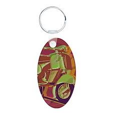 vespa-9x12 Keychains