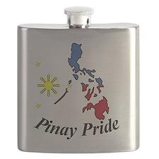 Pinay Pride Map Flask