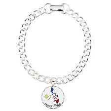 Pinay Pride Map Bracelet