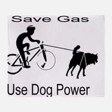 Save Gas! Throw Blanket