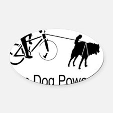 Save Gas! Oval Car Magnet