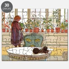Girl at Window Puzzle