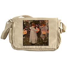 Garden Party Messenger Bag