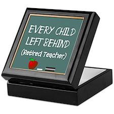every child left behind 2 Keepsake Box