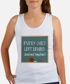every child left behind 2 Women's Tank Top