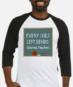 every child left behind 2 Baseball Jersey