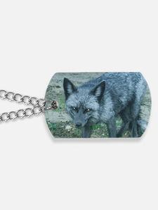 Silver Fox Dog Tags