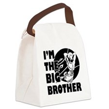 bb-basketball3-white Canvas Lunch Bag