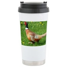 Ring-necked Pheasant Travel Coffee Mug