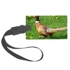 Ring-necked Pheasant Luggage Tag