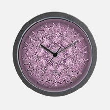 CHROMABIS Pink Wall Clock